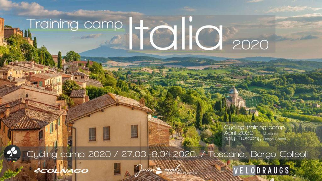 Cycling training camp italy tuscany